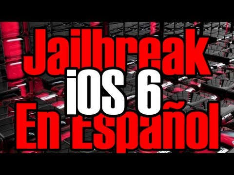 Nuevo Jailbreak iOS 6 Para iPhone 4 iPhone 3GS & iPod Touch 4g
