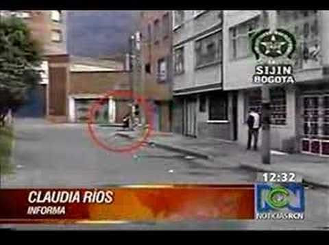 Video policiaco Colombia
