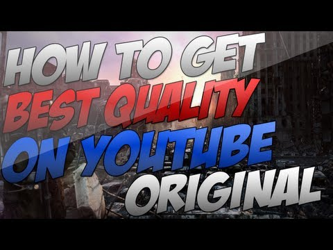 How To Get Original Quality Best render settings EVER Sony Vegas 12 - 11 - 10 (2K)