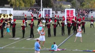 "Loveland, CO H.S.  Marching Band presents ""The Way Home""  2015 at Regionals"