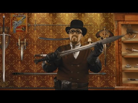 Olde Blade Shoppe ep04 - A large sword? (steampunk roleplay)