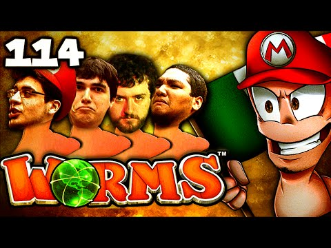 Killing Forest Gump!! (Worms Clan Wars: The Derp Crew - Part 114)