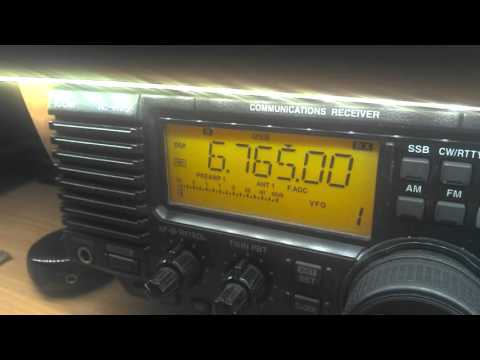 Bangkok Meteorogical Radio, 6765 kHz, 21:12 UTC