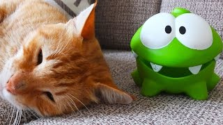 Om Nom New Stories for Kids - Om Nom and Cat. Once Upon a Rainy Day