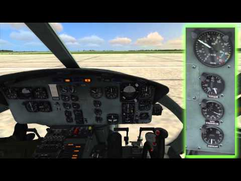 DCS:UH-1H Huey. Start Engine