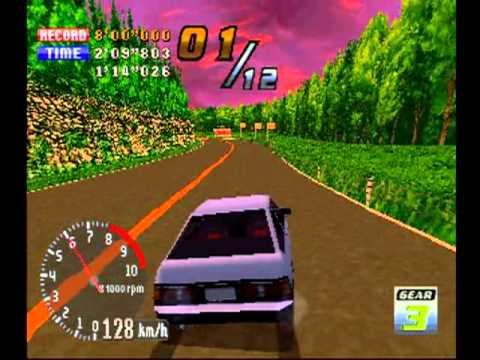 Ps1 Racing Games Japanese Touge Max Ps1 Racing Game