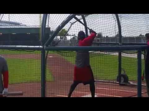 Hanley Ramirez hits