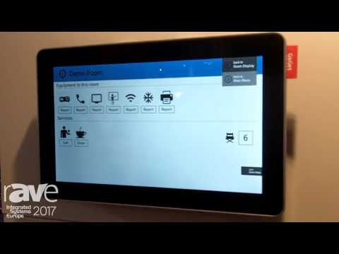ISE 2017: GoGet Features Room Sync Plus Unit