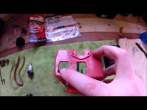 Craftsman Weed Trimmer Repair Fuel Lines and Carb