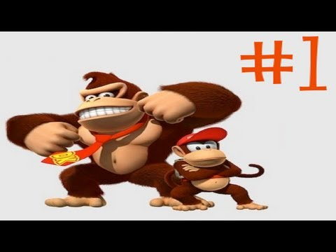 Donkey Kong Country - DONKEY ASS KONG - Donkey Kong Country With Mabi -  Part 1 - User video