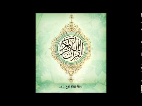 Sura Yasin -36 Mishary Al Afasy | Bangla Audio Translation video