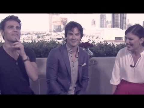 Paul Wesley Funny Moments San Diego Comic Con 2015!