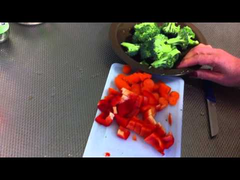 Recetas vegetarianas: Arroz integral con verduras - recetas saludables con verduras