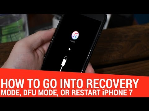 How-To: Restart, Enter Recover/DFU Mode on iPhone 7 without the Home Button