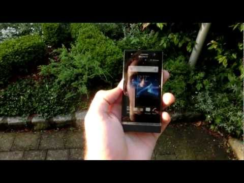 Sony Xperia U Display Test Outdoors