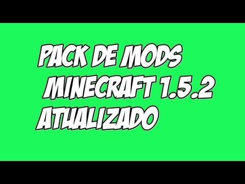 Pack De Mods + .Minecraft Atualizado 1.5.2
