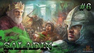 Age of Empires 2 HD Edition : Saladin  # 06 - Démon a Lev [CZ]
