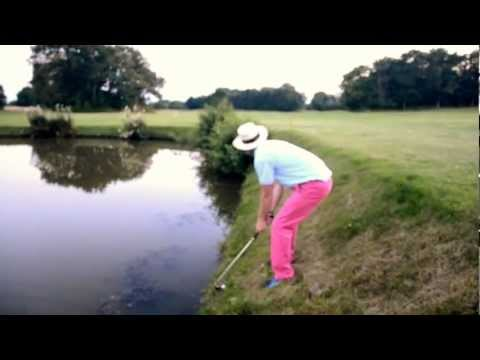 Drunk Golf Trick Shot