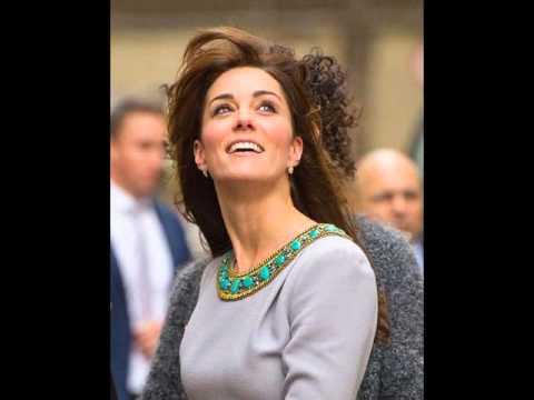 Kate, who wore Lauren gold pave diamond earrings by Kiki McDonough