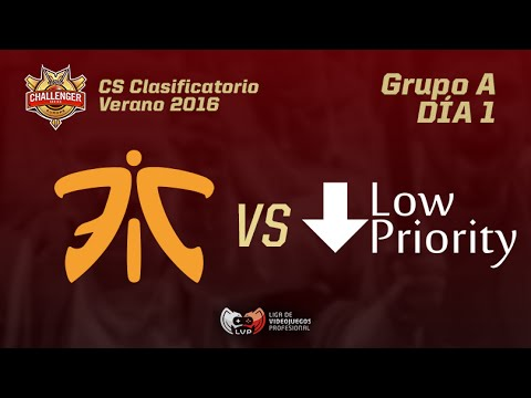 FNATIC ACADEMY VS LOW PRIORITY - Clasificatorio Challenger Series - Grupo A Mapa 1