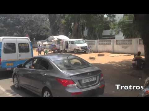 My Beautiful Trips in Africa - Accra, Ghana - On the way...