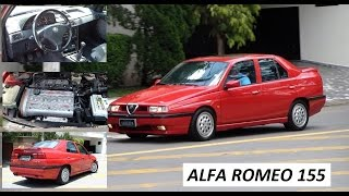 Garagem do Bellote TV: Alfa Romeo 155