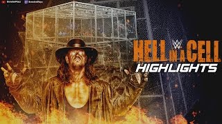 WWE 2k16 Universe Mode: Hell in a Cell Highlights