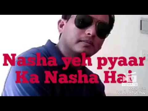 Nasha Yeh Pyaar Ka Nasha Hai Ll Movie-Mann Ll Sung By Sujit Barman Ll Original Singer- Udit Narayan