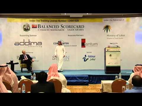 Abdulaziz Almosaad Presentation at the Balanced Scorecard Forum Saudi Arabia 2012 (ARASCO) PART 1