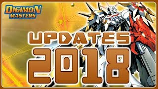 👑 New Digimons , Tamers , Maps , Hatch Lv6 & More!!! - UPDATES FOR 2018 - Digimon Masters Online