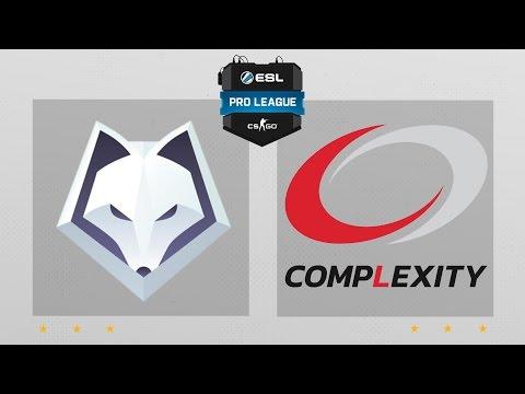 CS:GO - Winterfox Vs. CompLexity [Overpass] Map 1 - ESL Pro League Season 4 - NA Matchday 23