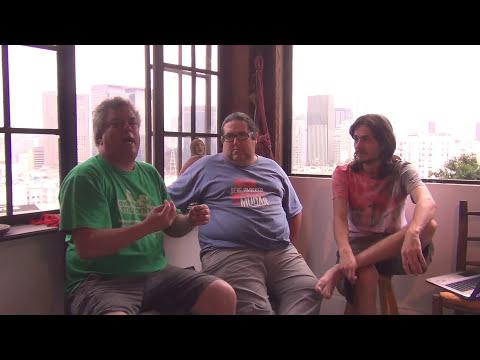 Tomazine entrevista Tarcísio Motta, Renato Cinco e André Barros Parte 2 - Torrando com Tomazine #134