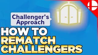 How to Rematch Challengers in Smash Ultimate