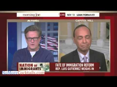 "Dem Rep. Luis Gutierrez: Obama should take ""bold"" & ""generous"" executive action on immigration"