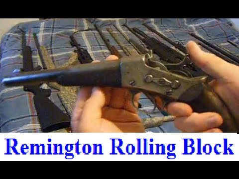 ANTIQUE 1871 Remington Rolling Block Pistol 50 cal Pre 18971898 HandGun