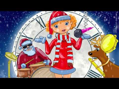 Новогодние песни для детей 2016 2017: Наступает Новый год - детские песни про новый год для детей
