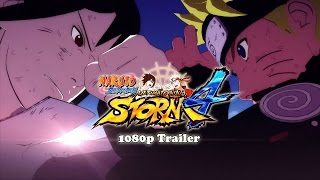 Naruto Shippuden Ultimate Ninja Storm 4 1080p HD Official Trailer
