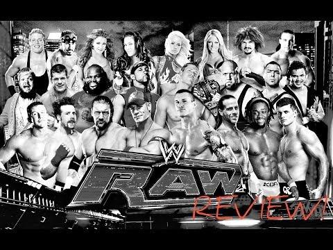 RAW Review 4/7/14 (Brock Lesner, Daniel Bryan, Cesaro, and more!)