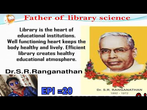 Father of Library Science |Dr.S.R.Ranganathan Life History |@VAISHUPEDIA #தமிழ் EPI =20