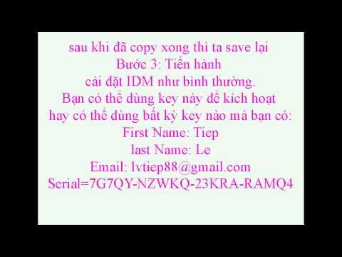 Huong Dan Cai Dat Idm-tai Phim Ve May Tinh video