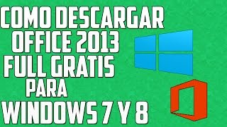 Como Descargar e Instalar Office 2013 Full y Gratis - 32 y 64 Bits - HD
