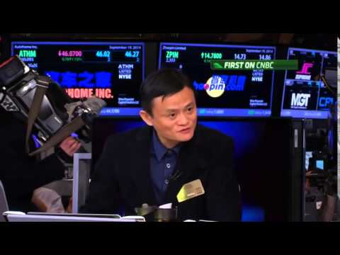 China's richest man Jack Ma on Alibaba's IPO success and Forrest Gump