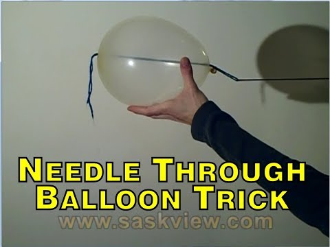 Needle Through Balloon Revealed
