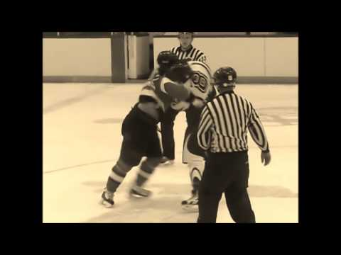 Miramichi Style Hockey Fights