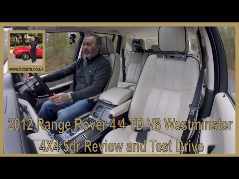 2012 Range Rover 4 4 TD V8 Westminster 4X4 5dr Review and Virtual Video Test Drive In The Car We Hav