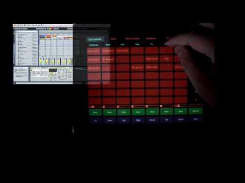 iPad + LiveControl and Ableton Live