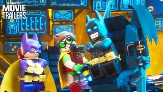 Go Behind the Bricks with a featurette from The Lego Batman Movie