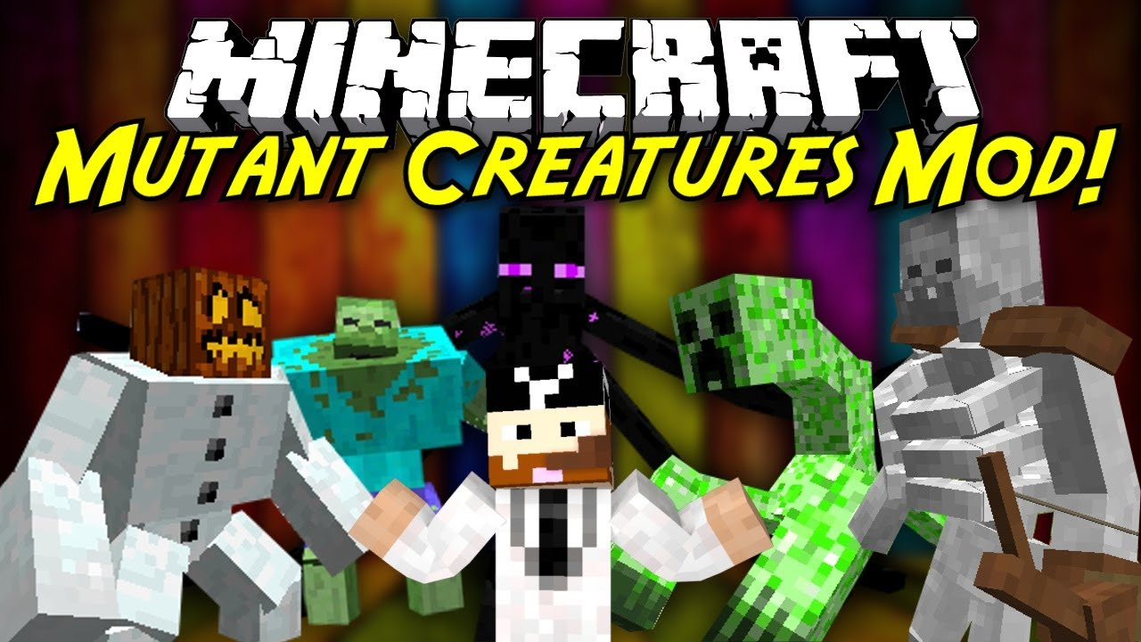Minecraft Mod Showcase Mutant