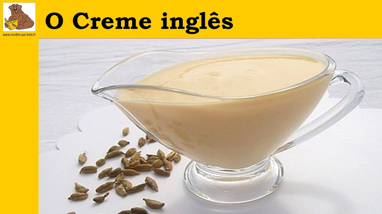 Creme Leite Receita Receita do Creme Ingles