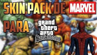 Loquendo-Pack de skins de Marvel para GTA San Andreas.Por JoteAmazing2000